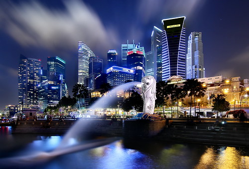 The Singapore Merlion at the Bay | by erwinsoo