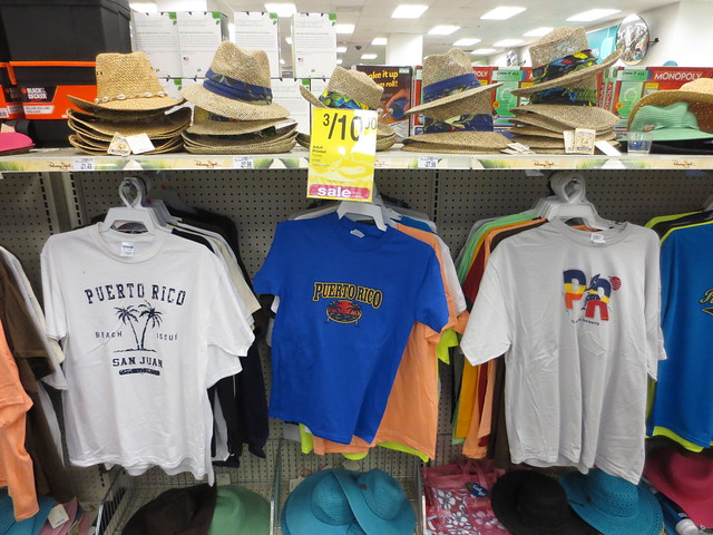 Puerto rico t shirts for sale in the cvs store of old san for Cvs photo t shirt