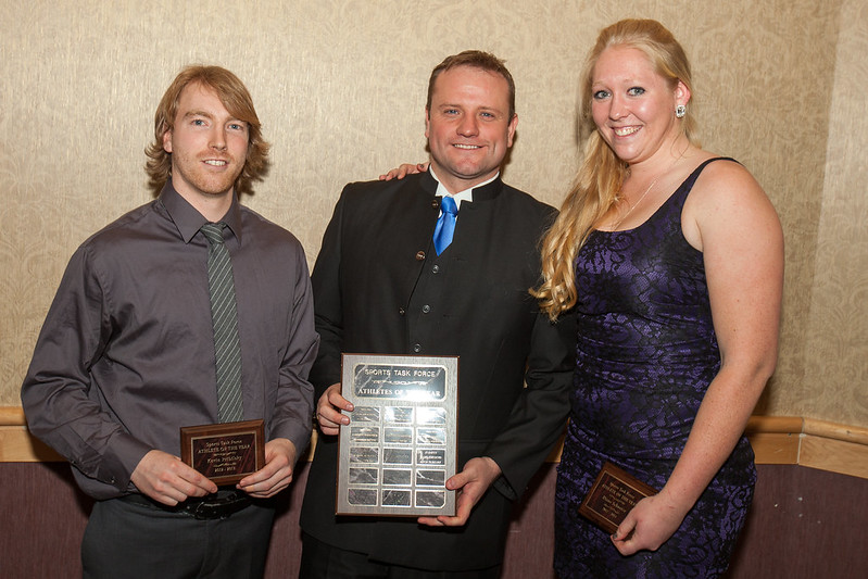 Kevin Pribilsky-Christopher Seguin-Diane Schuetze (STF Athlete of the Year)