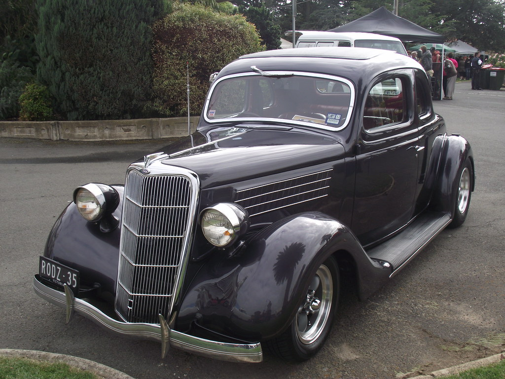 1935 Ford 5 Window V8 Coupe Hot Rod | Very nice Ford 5 Windo… | Flickr