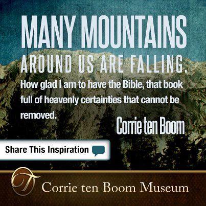Wisdom from Corrie ten Boom - Week 1 - jenniferajanes.com