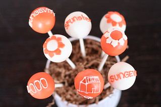Custom Logo Cake Pops | by Sweet Lauren Cakes