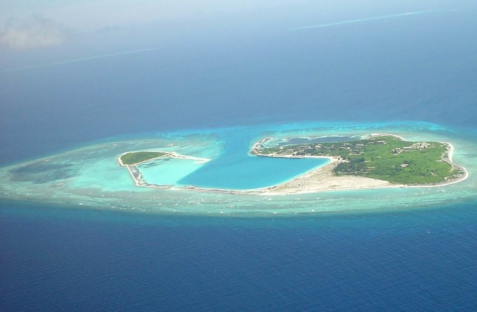 Island South China Sea