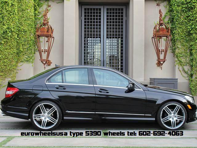 19 type 5390 amg replica wheels on mercedes c300 wheelpal for Rims for mercedes benz c300