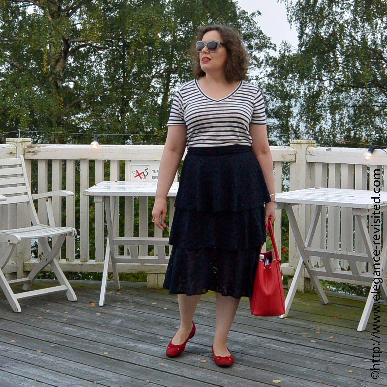 how to wear frills over 50