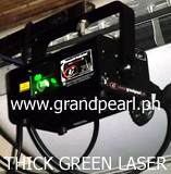 Thick Beam Green Laser