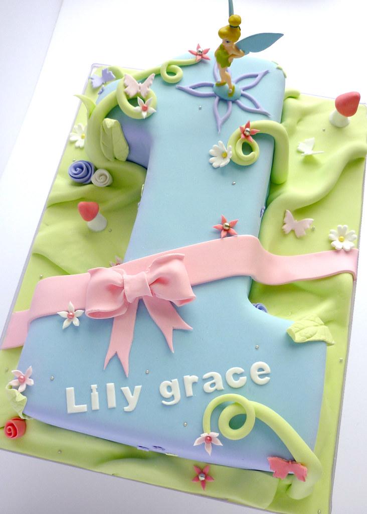 Tinkerbell Birthday Cake Liana Stevens Flickr