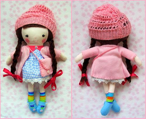 Little Miss Jessie Fabric Cloth Doll!~ :) | by Gizu's Doll World! ~