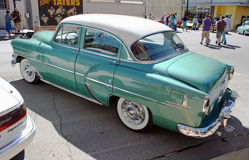 1954 chevrolet deluxe 210 4 door sedan 7 of 7 for 1954 chevy 4 door