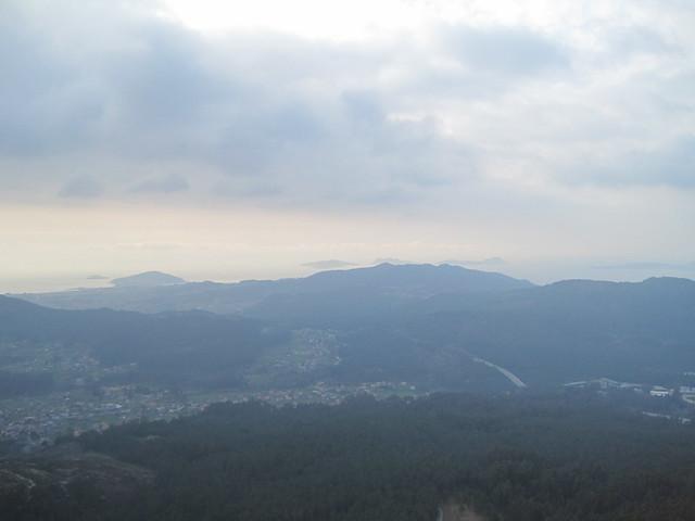 Vistas desde la Cima del Galiñeiro