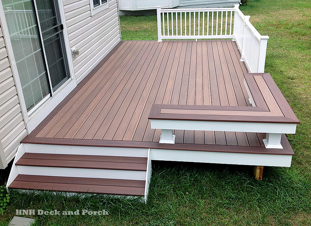 Wolf pvc deck flickr photo sharing for Vinyl decking material