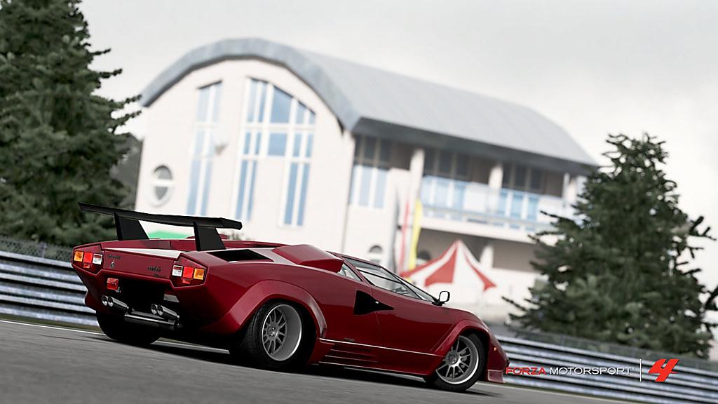 Forza Motorsport 4 Lamborghini Countach Lp5000 Qv Par Oliv
