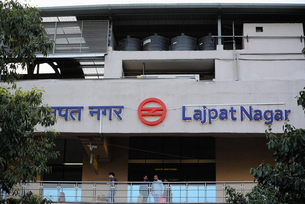 Lajpat Nagar Metro Station