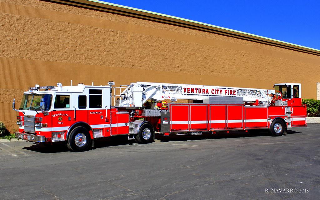 New Ventura City Fire Medic Truck 5   New MT5 is a 2012 Pier…   Flickr
