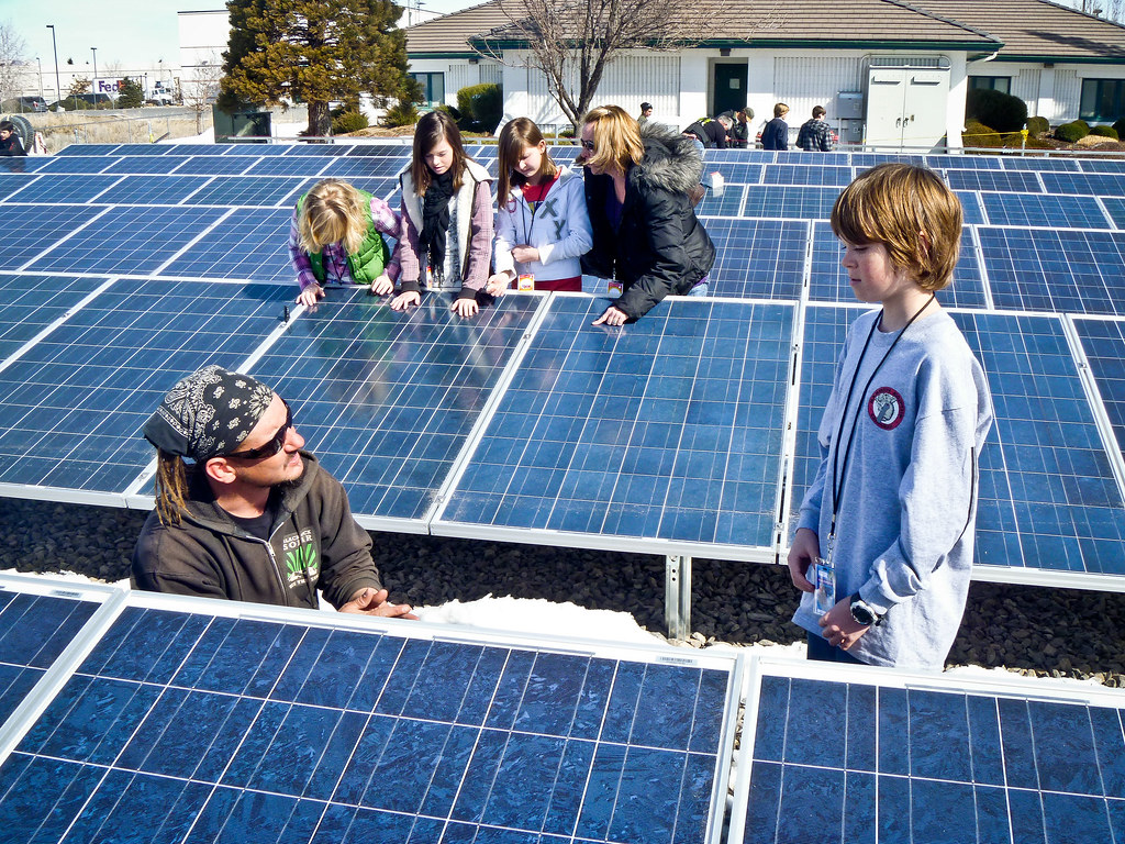 Solar Energy System >> Black Rock Solar field trip to The Children's Cabinet with… | Flickr