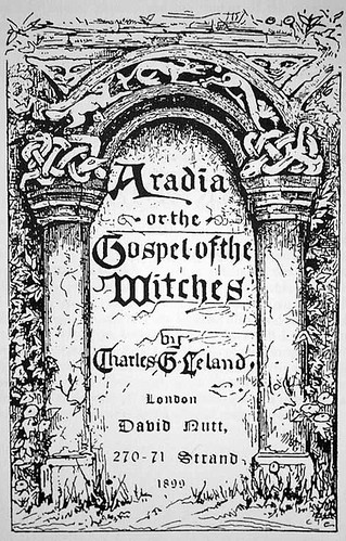 Aradia, or the Gospel of the Witches - cover | by New York Pagan