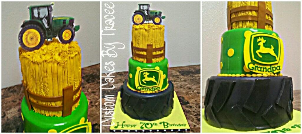 John Deere 70th Birthday Cake Original Design Was Sent To Flickr
