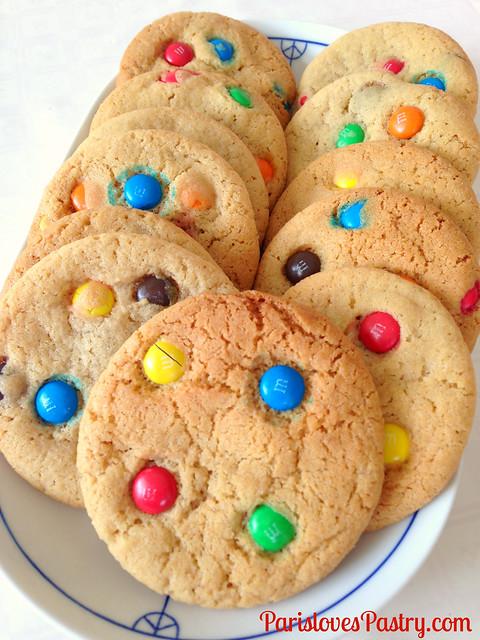 World's Best M&M Cookies