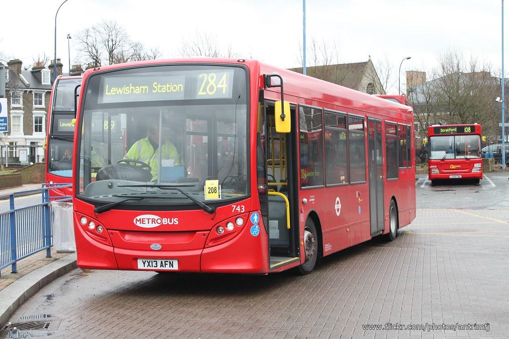 metrobus 743 yx13 afn ad e20d ad e200 lewisham bus station flickr. Black Bedroom Furniture Sets. Home Design Ideas