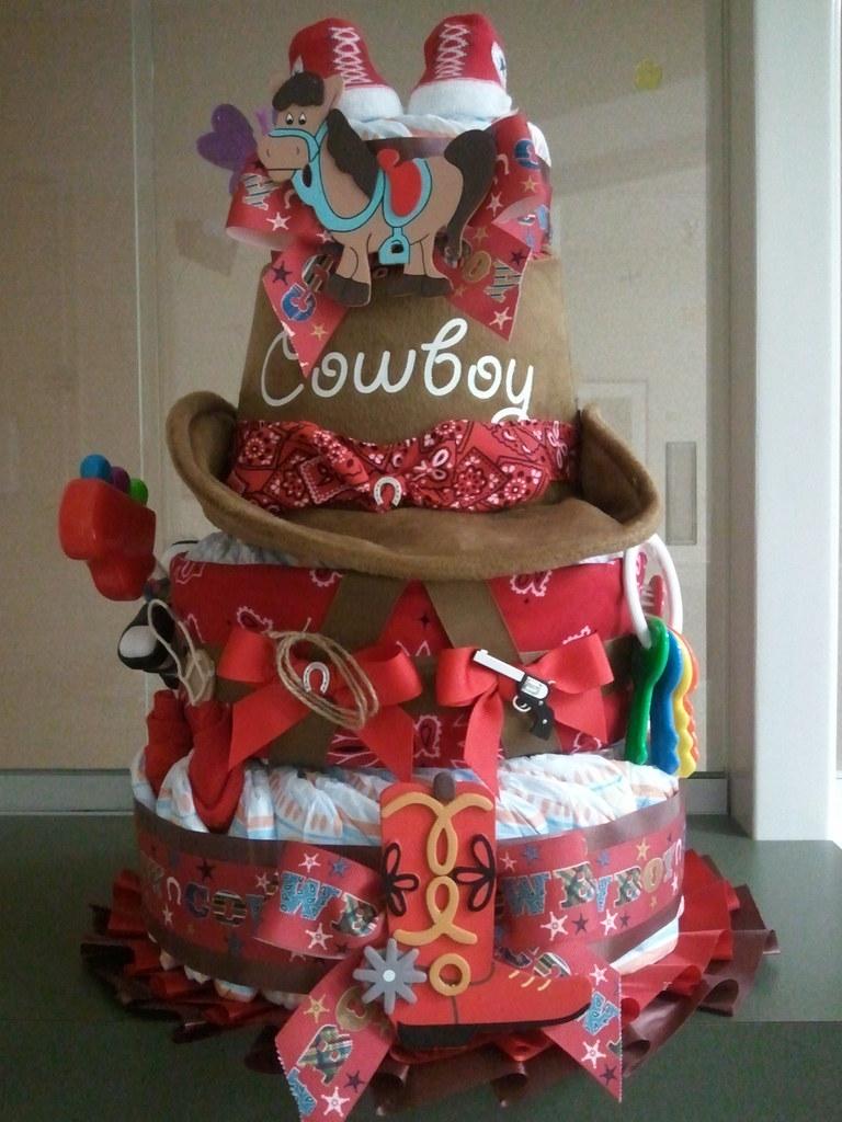 Diaper Cake Ideas Girl
