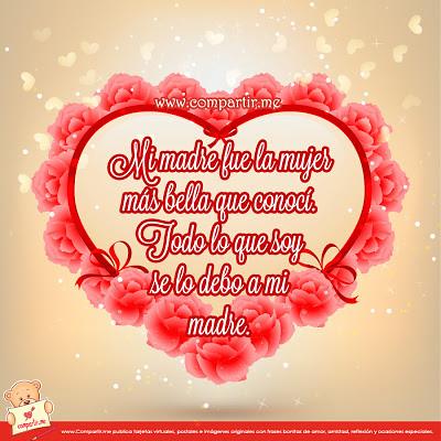 Frases De Amor Frase Bonita Para Dedicar A Mama Con Image Flickr