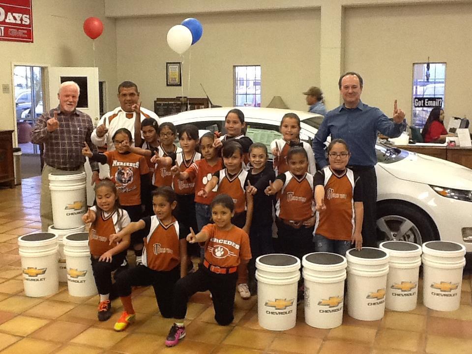 Merce tigers chevrolet and payne weslaco motors donated for Payne motors in weslaco