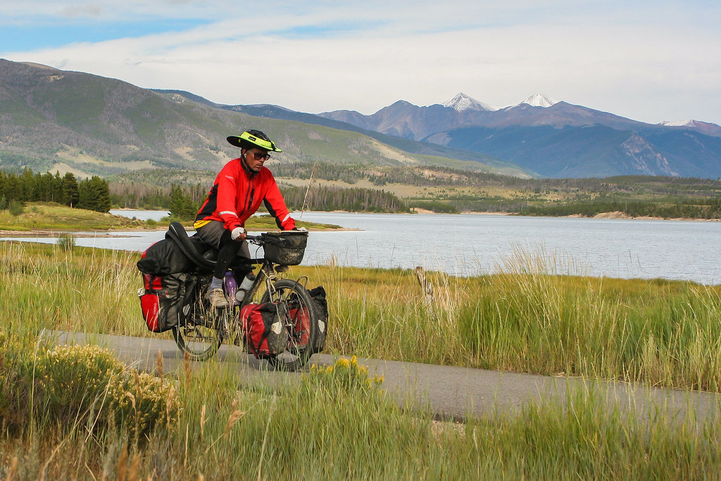 bike touring near Breckenridge Colorado GDMBR