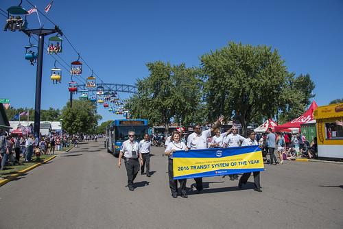 2016 Minnesota State Fair Transit Hub, Parade