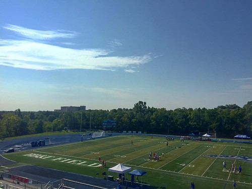 Heat is the enemy today for the young men of NKY Football. Already 96° heat index. | by Particularly Everything