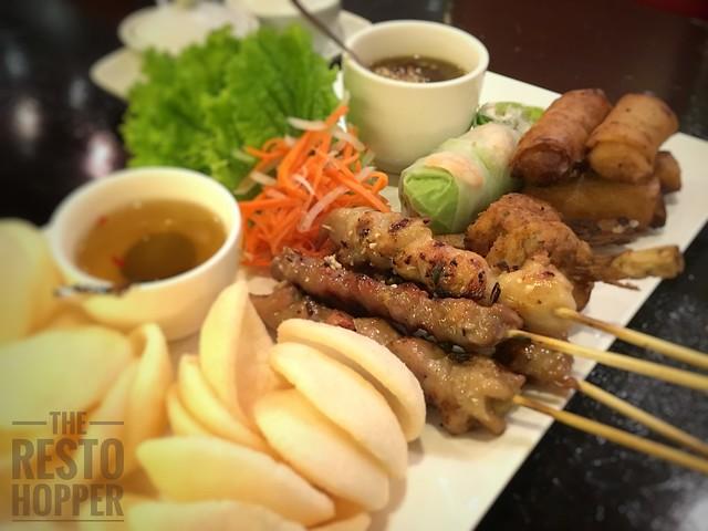 Zao Vietnamese Bistro's Appetizer Sampler