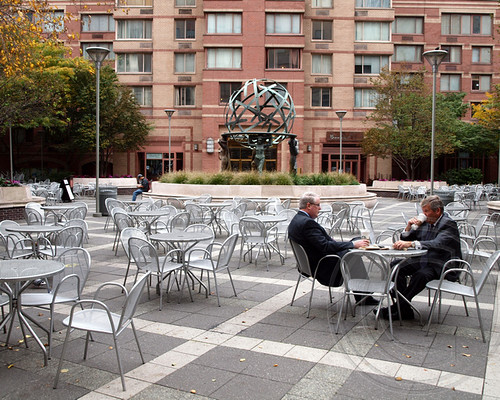 Pops050 urban plaza 825 eighth avenue one worldwide pl flickr - Small urban spaces image ...