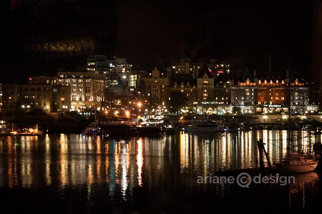 AURA Restaurant gorgeous harbour view