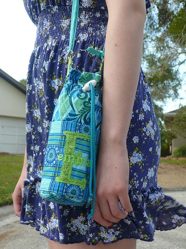 Large Custom Water Bottle Carrier | by Stitchcottage