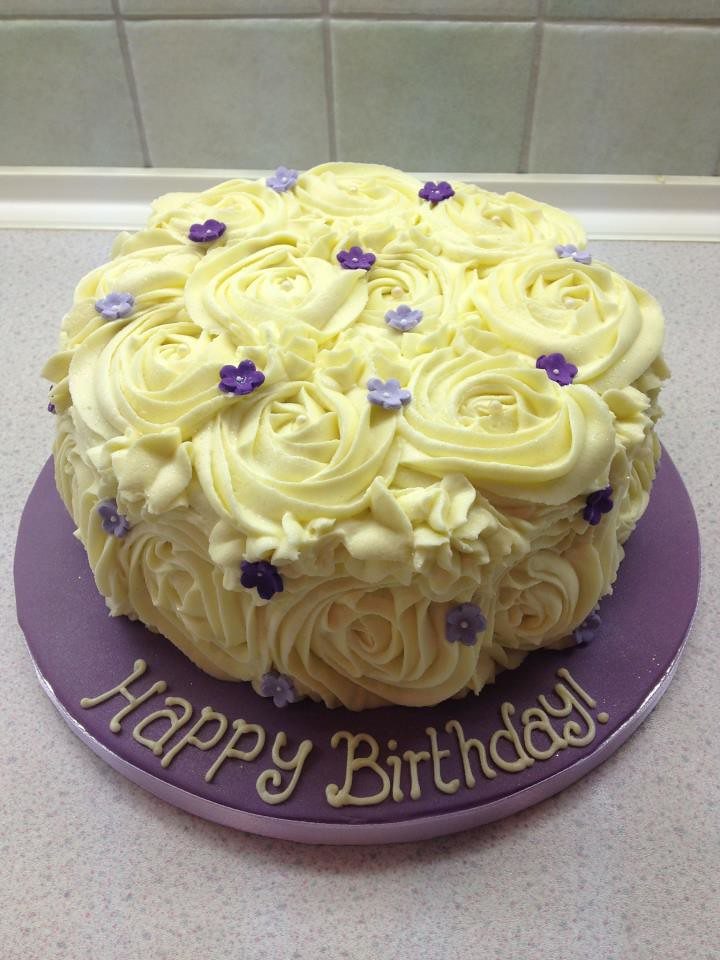 Buttercream Birthday Cake ?35 Gale Atkins Flickr