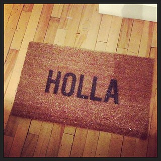 The new'ish welcome mat at the #endloop office. | by kmo