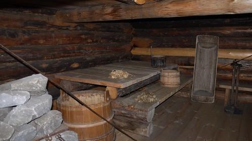 p1010872 russie le de kiji l 39 int rieur d 39 un sauna en flickr. Black Bedroom Furniture Sets. Home Design Ideas