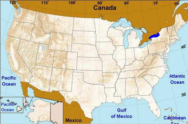 Lake Ontario US Map Harp Seal 380 Flickr