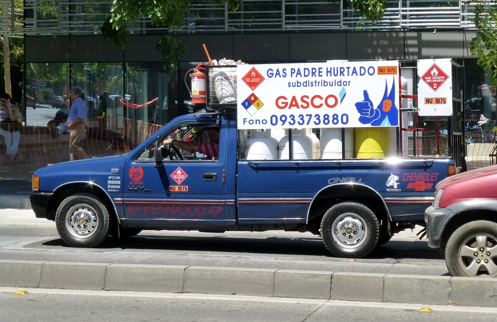 Chevrolet Luv Gasco Repartidor De Gas Licuado Santiago