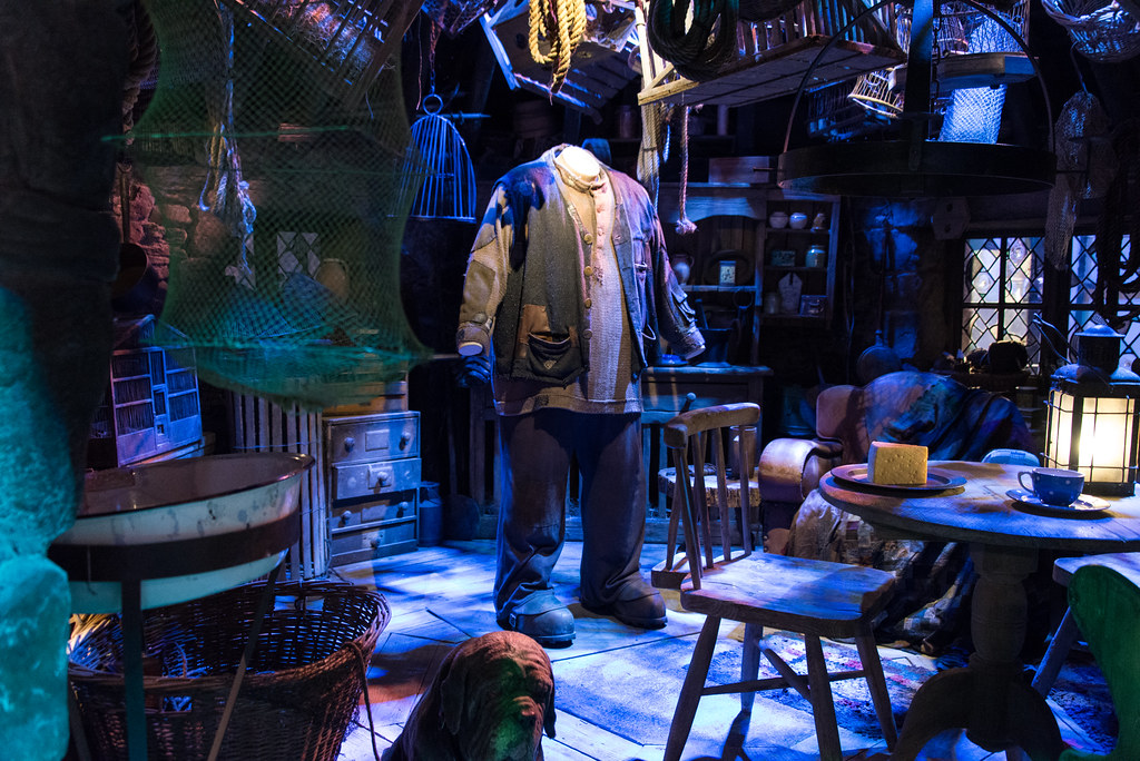 Hagrid's Hut Interior | Inside Hagrid's home | Iain