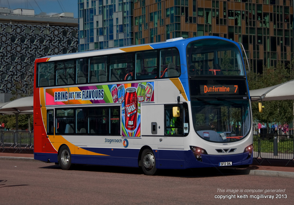 Wright Gemini 2: Stagecoach Fife | (This image is computer g… | Flickr