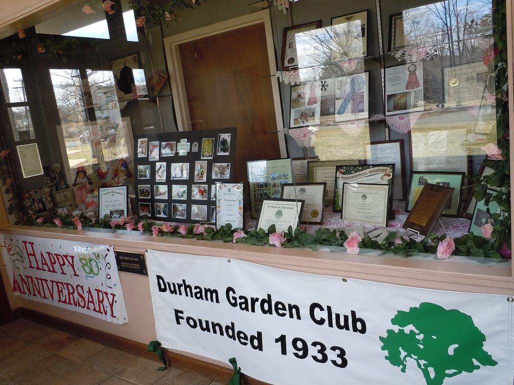 Durham Gc Durham Ct Happy 80th Anniversary Durham Garden Flickr