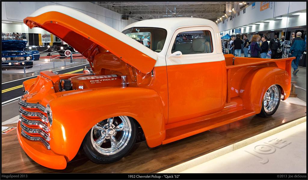 "1952 Chevy Truck >> 1952 Chevrolet Pickup - ""Quick '52"" | Hilton Motorsports 510… | Flickr"