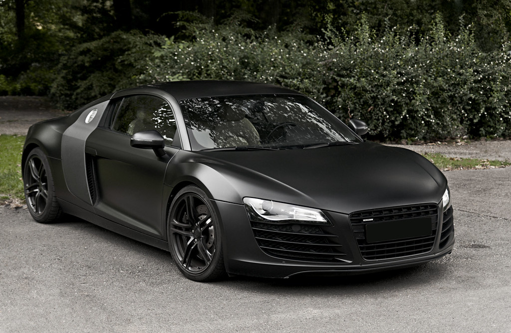 flat black audi r8 v8 also feel free to like or share my f flickr. Black Bedroom Furniture Sets. Home Design Ideas