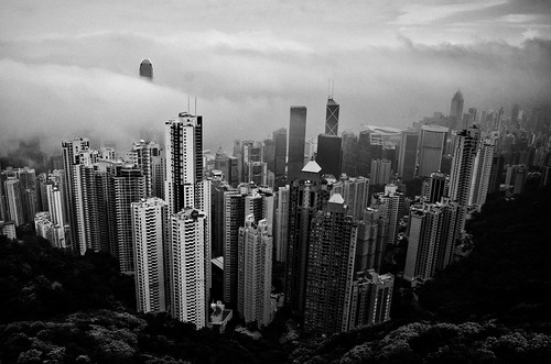 a misty day in Hong Kong | by Dr Kippy