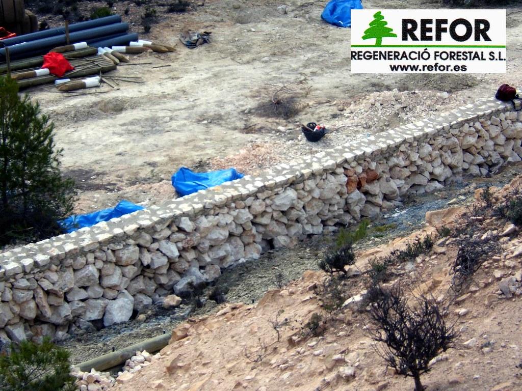 Construccion muros manposteria de piedra o ribazos para la flickr - Piedras para construccion ...