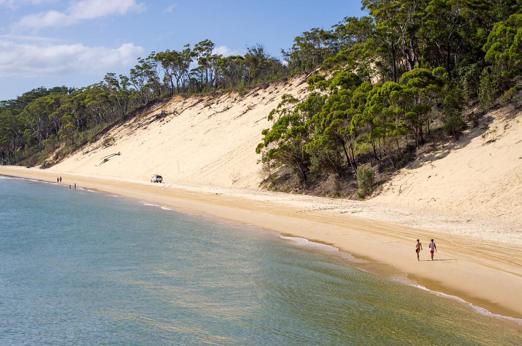 Moreton Island Beach