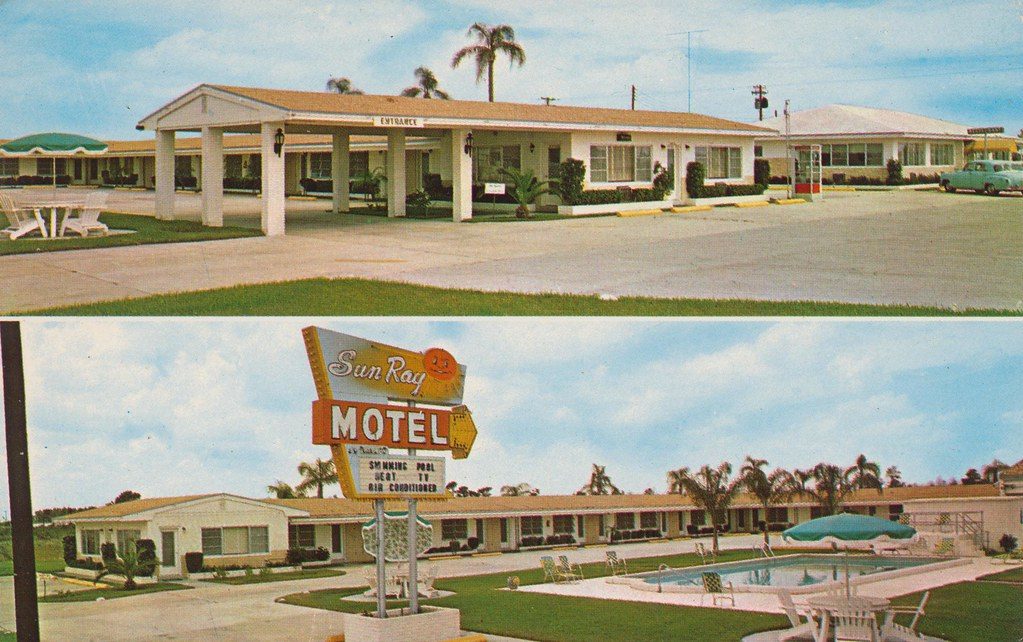 Sun Ray Motel & Restaurant - West Frostproof, Florida