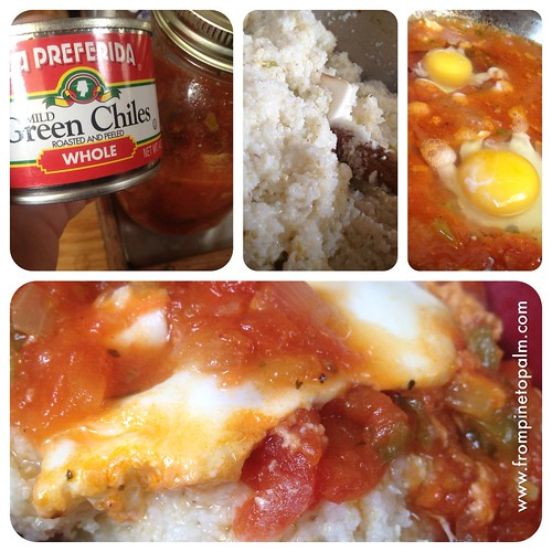 Eggs in Purgatory with grits | by kindreds unite