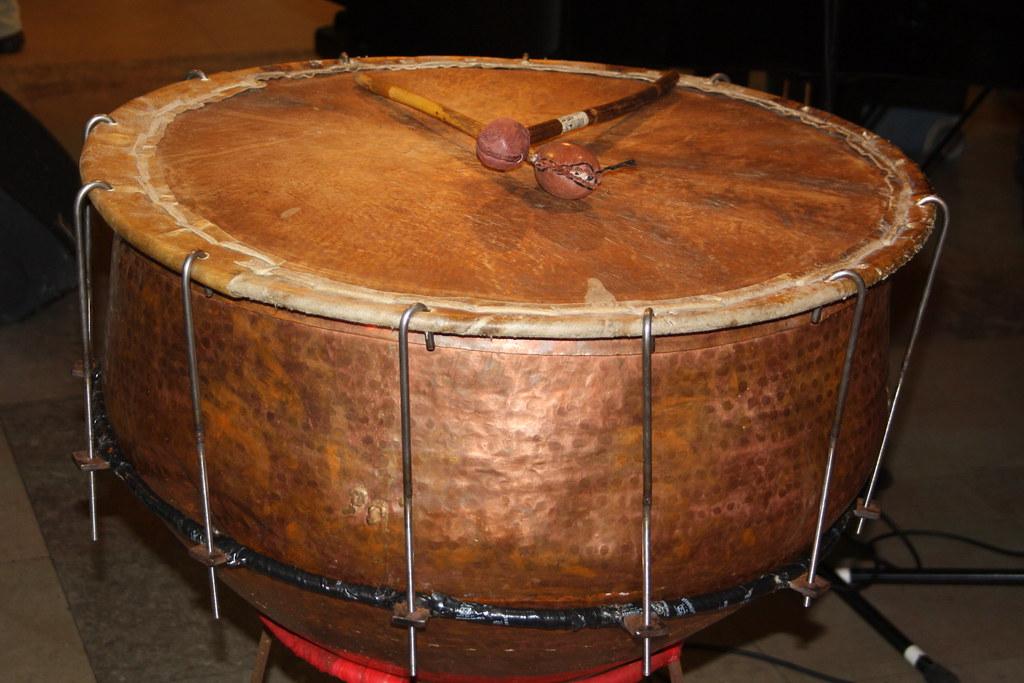 kettle drums 05 nagara indian of asima musician flickr