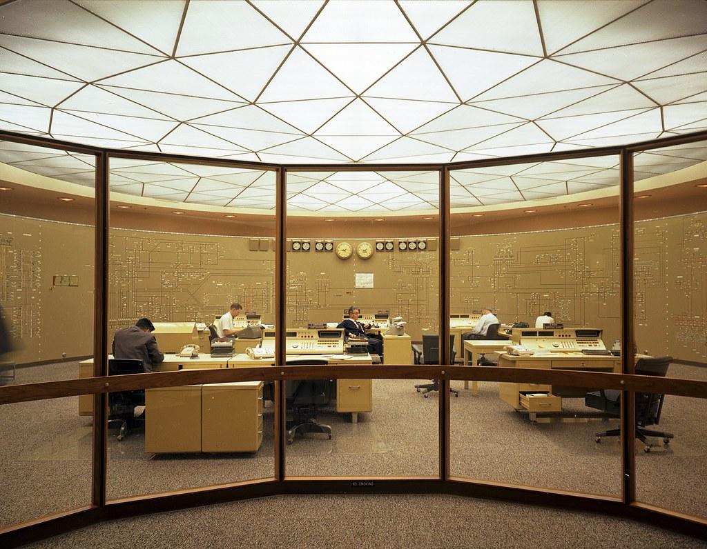 Charming ... Seattle City Light Power Control Center [1968] | By KurtClark Ideas